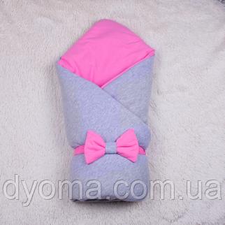 Демисезонный конверт-одеяло  Mini (розовый), фото 2