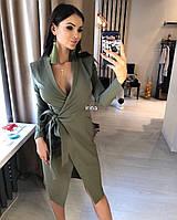 """Стильное платье мини """" Габардин """" Dress Code , фото 1"""