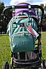 Уникальный рюкзак для мам оригинал с креплением на коляску. Умный органайзер. Стильный дизайн. , фото 10