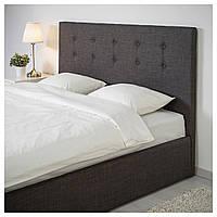 Кровать GVARV 180х200 см серая
