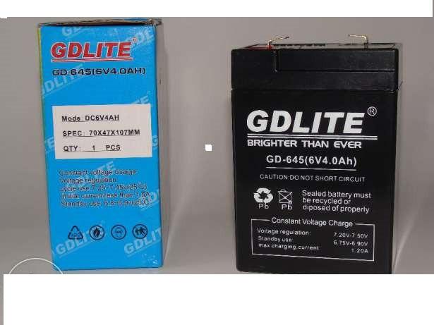 Аккумуляторная батарея 6V, для весов. Ламп, фонарей и т.д.