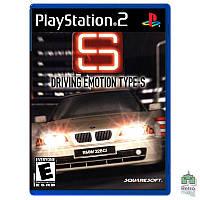 Driving Emotion Type-S (PAL) PS2 оригинал   Б/У