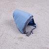 Теплая шапочка для младенца Mini (голубая)
