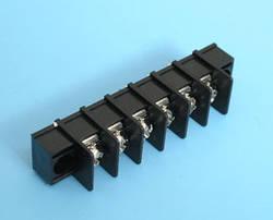ETB5402106 Клеммник 6 контактов на плату с креплением, 300В 10А шаг 7,62мм