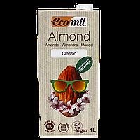 """Молоко """"Ecomil"""" растительное из МИНДАЛЯ органическое 1л"""