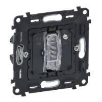 Выключатель с выдержкой времени, с нейтралью для санузлов 10AX - 250 В~ Valena™ In'Matic - с винтовыми зажимам