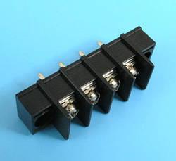 ETB5402104 Клеммник 4 контакта на плату с креплением, 300В 10A шаг 7,62мм