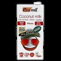 """Молоко """"Ecomil"""" растительное из КОКОСА без сахара органическое 1л"""