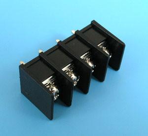 ETB5402204 Клеммник 4 контакта на плату 300В 10А шаг 7,62мм