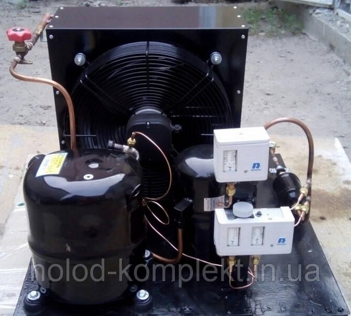 Среднетемпературный холодильный агрегат R404a/507 , 1450 Вт. холод. (220 V)