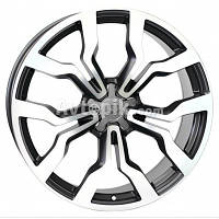 Литые диски WSP Italy Audi (W565) Medea R18 W7.5 PCD5x112 ET51 DIA57.1 (black polished)