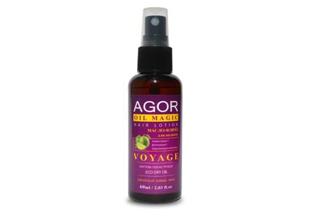 Несмываемое масло-флюид для блеска и защиты волос VOYAGE от Agor