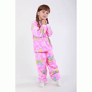 Пижама детская махровая цветная