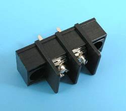 ETB5402102 Клеммник 2 контакта на плату с креплением, 300В 10A шаг 7,62мм