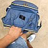 Уникальный рюкзак для мам оригинал с креплением на коляску. Умный органайзер. Стильный дизайн., фото 5