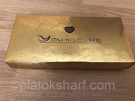 Золотая коробка для упаковки 26*14*4 см , фото 2