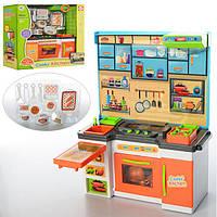 Игровой набор кухня для кукол Cook's Kitchen 1501A-3: посуда + свет