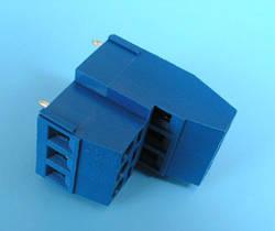 ETB1806 Клеммник 6 контактов на плату, 2 уровня, 300В 10А шаг 5,0мм