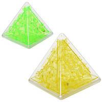 Лабиринт A110  пирамида 8,5 см, 2 цвета