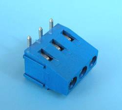 ETB1403 Клеммник 3 контакта на плату, прямой угол, 300В10A шаг 5,0мм