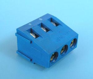 ETB1303 Клеммник 3 контакта на плату, 300В 10А шаг 5,0мм