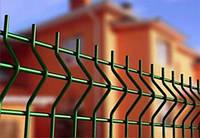 Забор из сварной сетки 3D с ПВХ покрытием