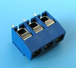 ETB1103 Клеммник 3 контакта на плату, 300В 8А шаг 5,0мм.