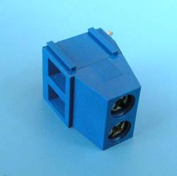 ETB1402 Клеммник 2 контакта на плату, прямой угол, 300В10A шаг 5,0мм