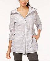 Женская светлая камуфляжная водоотталкивающая ветровка  с рюкзаком Calvin Klein, фото 1