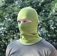 "Балаклава летняя ""Жаба"" ХБ зеленая"