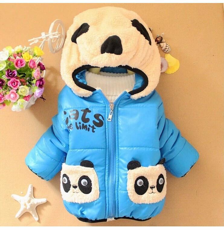 """Демисезонная куртка для мальчика """"Панда"""" размер 98."""