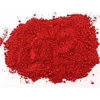 Пигмент краситель для садовых дорожек красный
