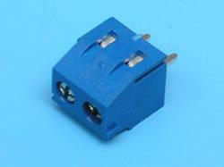 ETB30020 Клеммник 2 контакта на плату, 300В 10А шаг 3,81мм