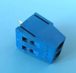 ETB1302 Клеммник 2 контакта на плату, 300В 10А шаг 5,0мм