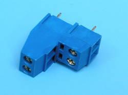 ETB0504 Клемник 44 контакту на плату, 2 рівня, 300В 10А крок 3,5 мм