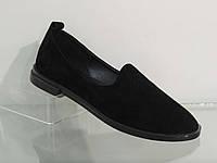 Замшевые модные женские туфли, мягкие, удобные.