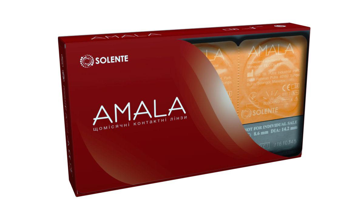 Линзы контактные Линза контактная Solente Amala
