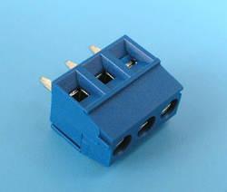 ETB0603 Клеммник 3 контакта на плату, 300В 10А шаг 3,5мм