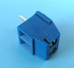 ETB0602 Клеммник 2 контакта на плату, 300В 10А шаг 3,5мм
