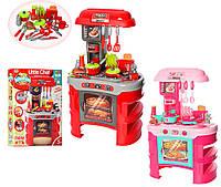 Детская кухня с плитой и вытяжкой 008-908: 15 аксессуаров, свет/звук эффекты, фото 1