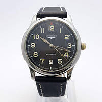 Копия Мужские механические наручные часы Longines Master Collection Automatic Black