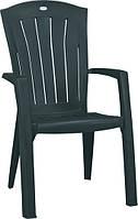 Крісло-стілець SANTORINI зелений (Allibert), фото 1