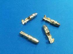 TC4-1.5M  Вилка цилиндр. диаметром 4 мм на провод 1.0-1.5 мм2, 2 уровня обжима неизолирова за 100 шт
