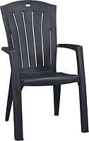 Крісло-стілець SANTORINI графіт (Allibert), фото 1