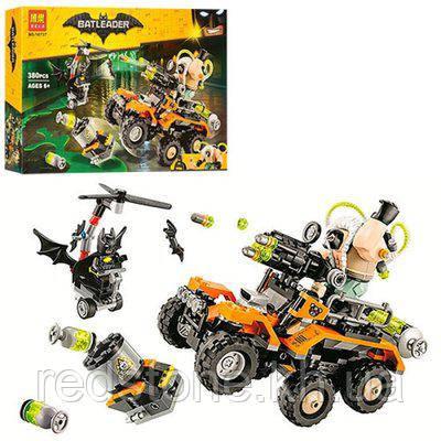 """Конструктор Bela 10737 (Lego The Batman Movie 70914) """"Химическая атака Бэйна"""" 380 дет."""