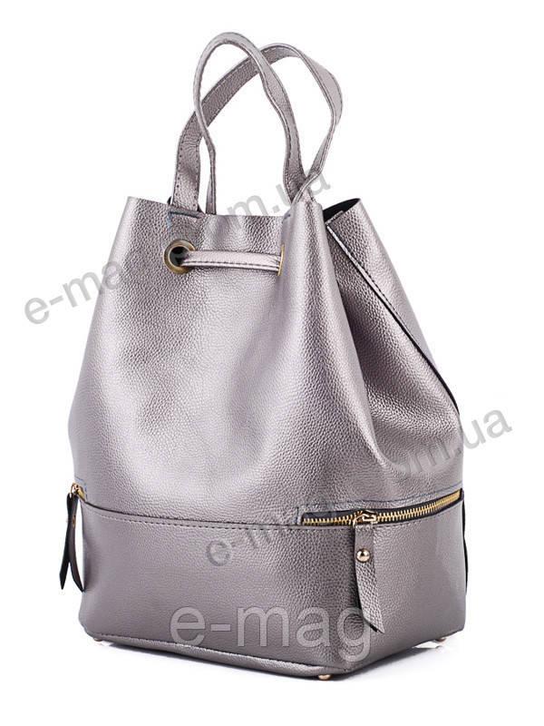 f0483561ff2c Сумка-рюкзак женская графит, оптом и в розницу 420 gun, цена 155 грн ...
