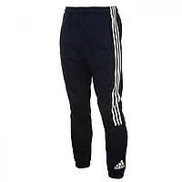 Штаны adidas 3 Stripe Sweat Navy/White - Оригинал, фото 1