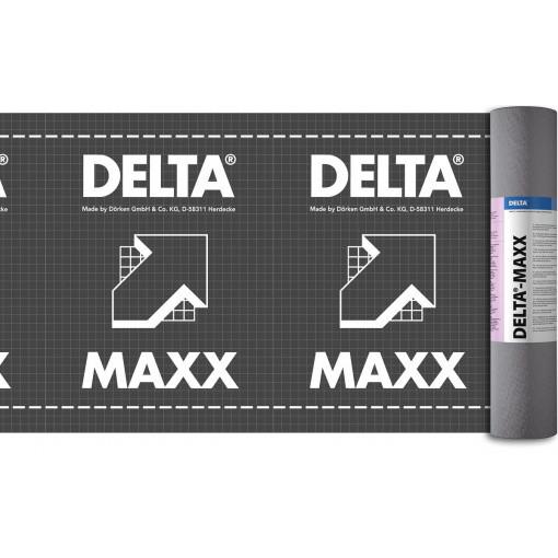 Гидроизоляционная мембрана Dorken DELTA-MAXX 1,5х50 м