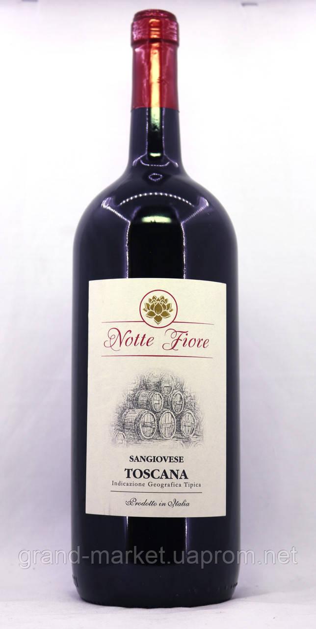 Вино Notte Fiore Sangiovese Toscana 1,5