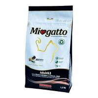 Morando (Морандо) Miogatto Veal&Barley корм для кошек с телятиной и ячменем, 1.5кг